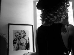 """Détail de la session """"Muses"""". Jean Paul Gaultier et Madonna."""