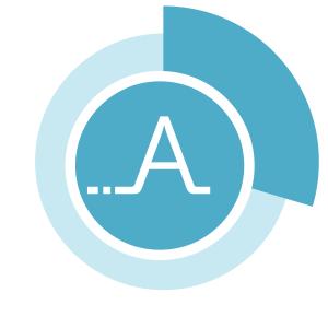 Logo centré fond blanc