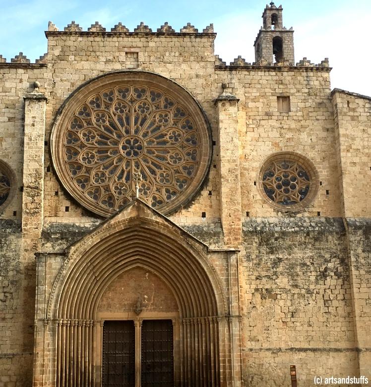 Barcelone Monastère de Sant Cugat.JPG