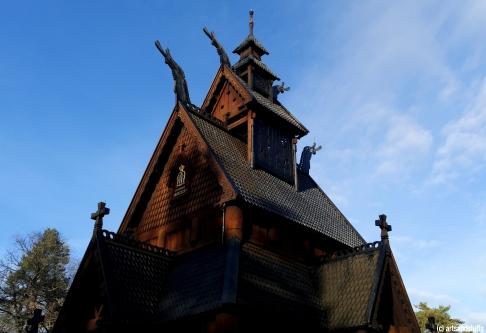 Oslo, musée du folklore norvégien (c) Arts & Stuffs