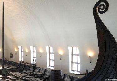 Oslo, musée des navires vikings (c) Arts & Stuffs
