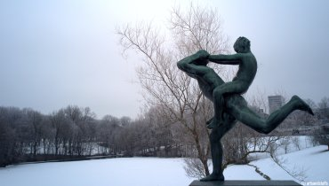 Oslo, parc Vigeland (c) Arts & Stuffs