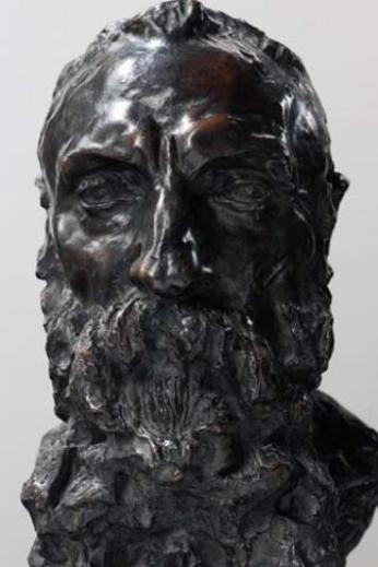 Camille Claudel, buste d'Auguste Rodin, Paris, musée Rodin (c) ADAGP, Paris, 2012