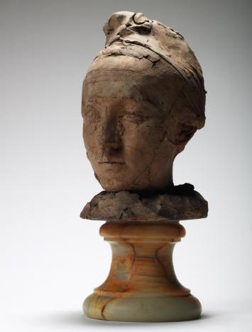 Auguste Rodin, tête de Camille Claudel coiffé d'un bonnet, Paris, musée Rodin (c) ADAGP, Paris, 2012