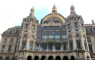 Anvers, la gare centrale (c) Arts & Stuffs
