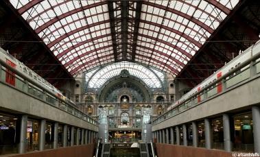 Anvers, la gare centrale (c) Arts & Stuffs