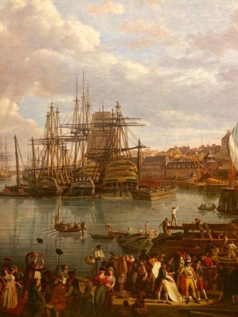 Jean-François Huet, vue de port (c) Perygus - Arts & Stuffs