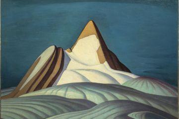 Lawren Harris, Isolation Peak, Rocky Mountains, 1930