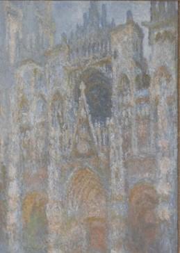 C. Monet, La cathédrale de Rouen, temps gris, Paris, musée d'Orsay (c) Photo musée d'Orsay/RMN