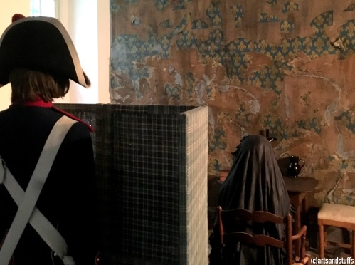 Ancienne reconstitution de la cellule de Marie-Antoinette à la Conciergerie (c) Arts & Stuffs