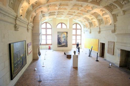 Pompidou et l'art au château de Chambord © Ludovic Letot