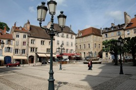 Centre ville de Vesoul - ©CRT de Franche-Comté