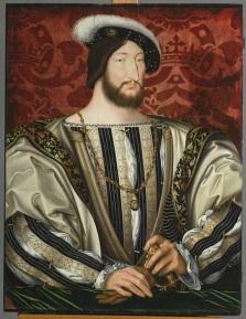 Jean Clouet, François Ier, roi de France © RMN – Grand Palais (Musée du Louvre)