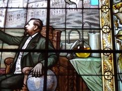 Palais Bénédictine, détail d'un vitrail