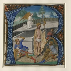 La résurrection du Christ, attribué au Maître Jacques de Besançon, premier quart du XVIème (c) Arts & Stuffs