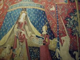 Tenture de la dame à la licorne 4e quart du XVe siècle; 1er quart du XVIe siècle (c) Arts & Stuffs
