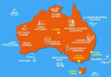 carte australie 1