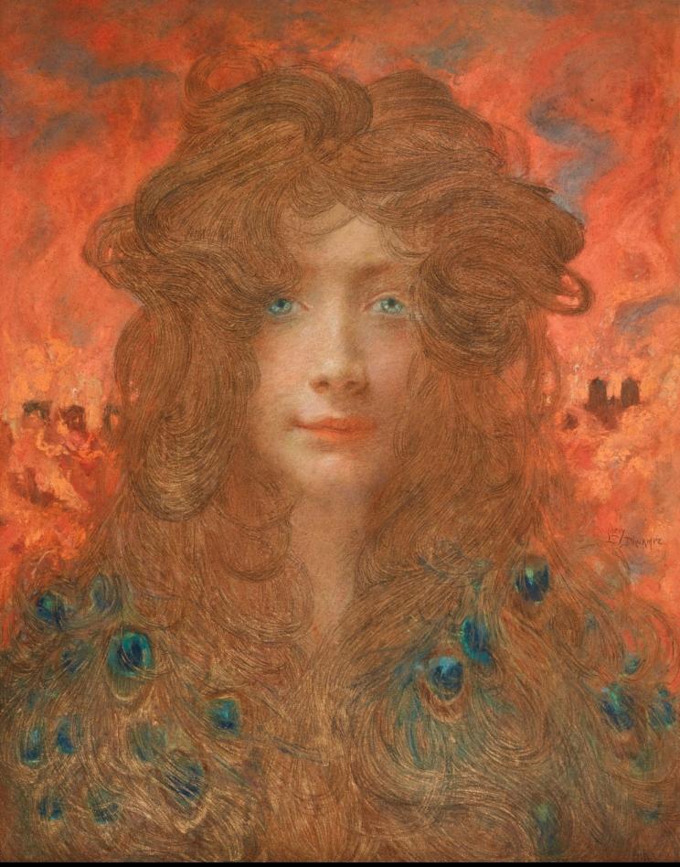 Lucien Lévy-Dhurmer, Hélène de Troie, ca. 1898-1899. Collection privée© Thomas Hennocque