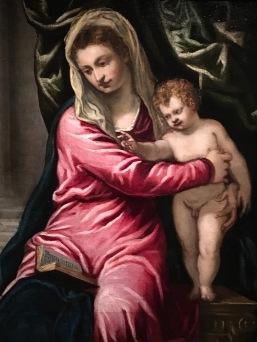 Atelier de Tintoret (Giovanni Galizzi ?), Vierge à l'Enfant , vers 1550-1555. Rotterdam, Musée Boijmans Van Beuningen (c) Arts & Stuffs