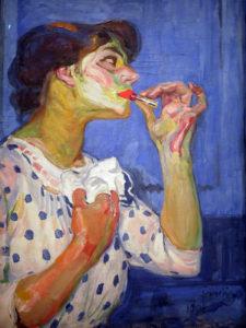 František Kupka, Le Rouge à lèvres n°II – 1908. Paris, Centre Pompidou. En dépôt au musée d'Art moderne et contemporain de Strasboug